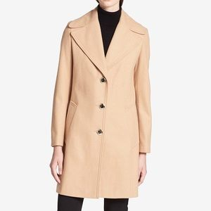 Calvin Klein collar coat